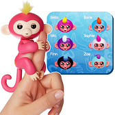 【WowWee】Fingerlings 手指猴 互動寵物猴 (顏色隨機)