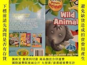 二手書博民逛書店wild罕見animals 野生動物Y200392