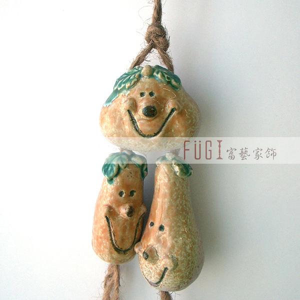 【富藝家飾】萬聖節 美國鬼節 南瓜吊飾  家飾禮品