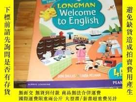 二手書博民逛書店朗文英語Longman罕見Welcome to English4