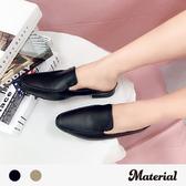 懶人鞋 素雅平底穆勒鞋 MA女鞋 T1765