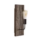 美式鄉村復古朽木單頭壁燈 創意工業風臥室床頭燈 走廊過道牆壁燈b20043-1