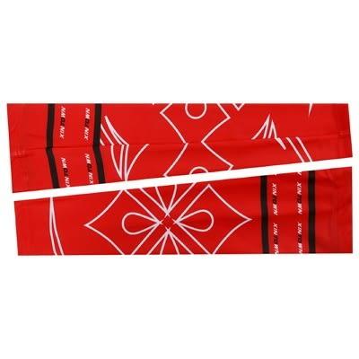 防曬袖套-紅色舒適透氣時尚男女自行車袖套73fm80[時尚巴黎]