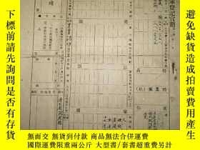 二手書博民逛書店罕見中華民國陸海空軍登記官籍Y3421