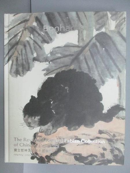 【書寶二手書T7/收藏_PJE】Bonhams_The Reverend Richard Fabian…Paintings_2019/10/9