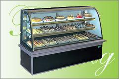 圓弧彩玻型 西點冷藏櫃【6尺 冰櫃】型號:C-106PRA