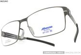 MIZUNO 美津濃 光學眼鏡 MF1232 C04 (槍銀) 完美工藝方框款 # 金橘眼鏡