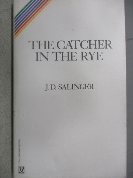 【書寶二手書T9/原文小說_COU】The Catcher in the Rye_J.D.Salinger