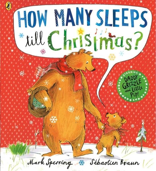 【麥克書店】HOW MANY SLEEPS TILL CHRISTMAS ? /英文繪本 《主題: 聖誕節》