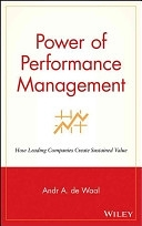 二手書《Power of Performance Management: How Leading Companies Create Sustained Value》 R2Y ISBN:0471383473