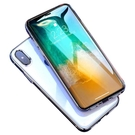iPhoneX鋼化膜蘋果X手機貼膜水凝5D全屏覆蓋4D背膜10 X藍光8x前後·享家