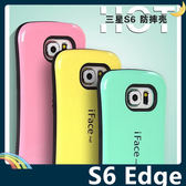 三星 Galaxy S6 Edge 防摔烤漆矽膠套 軟殼 iFace 全包款 防滑 保護套 手機套 手機殼