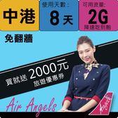 ★飛租不可★實體店面 中港卡上網卡 (8日/2GB)