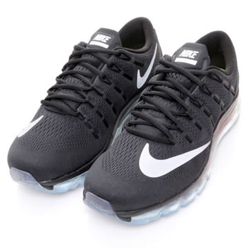 *Nike Air Max 2016 黑 銀 360 氣墊 休閒 運動 網布 透氣 男鞋 806771-001