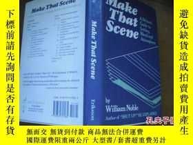 二手書博民逛書店Make罕見That Scene 【精裝本】9740 出版198