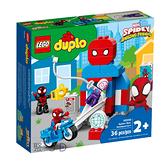 10940【LEGO 樂高積木】Duplo 得寶系列 - 蜘蛛人總部