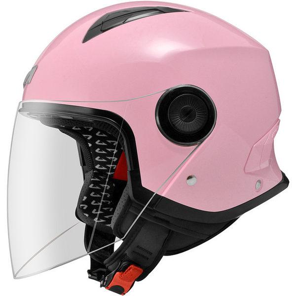 ASTONE安全帽,MJ 617,素色/淺粉紅