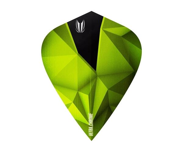 【TARGET】SHARD ULTRA CROME KITE Emerald 333110 鏢翼 DARTS