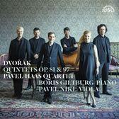 【停看聽音響唱片】【CD】德佛札克:鋼琴五重奏 / 弦樂五重奏 帕菲爾.哈斯 弦樂四重奏