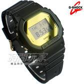 G-SHOCK DW-5600BBMB-1 復刻經典強悍電子運動錶 金屬鏡面 霧面黑x金 DW-5600BBMB-1DR CASIO卡西歐