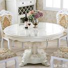 圓形水晶板PVC餐桌墊免洗桌布防水油軟質玻璃塑料臺布透明茶幾墊 QQ12589『bad boy時尚』