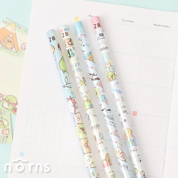 日貨角落生物原木鉛筆 露營季- Norns 日本正版文具 水獺 露營季節