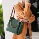 包包女2020新款女包水桶包潮韓版簡約百搭斜挎包手提包單肩包大包『新佰數位屋』