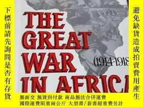 二手書博民逛書店the罕見great war in africa (1914-1