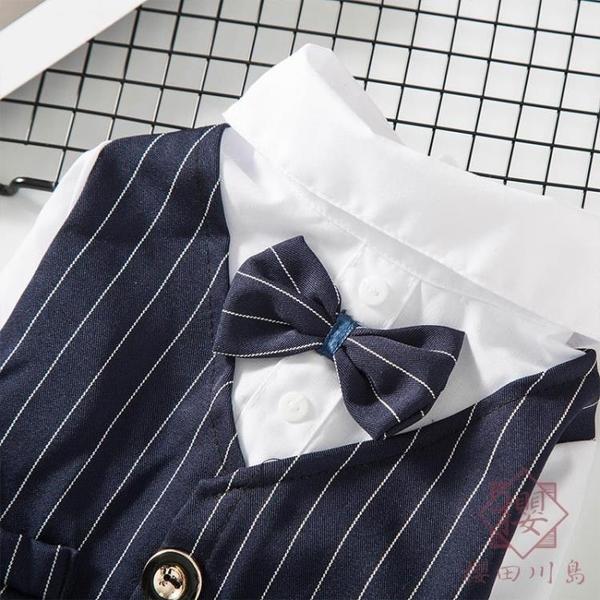 寵物狗狗結婚禮服衣服西服西裝小型犬【櫻田川島】