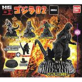 全套4款【日本正版】哥吉拉 HG D+ 02 扭蛋 轉蛋 公仔 恐龍 GODZILLA BANDAI 萬代 - 396697