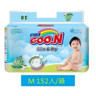 GOO.N 日本大王紙尿褲-國際版M(38片X4串/箱) 獨家代理