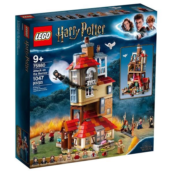 樂高積木 LEGO 2019《 LT75980 》Harry Potter 哈利波特系列 - Attack on the Burrow / JOYBUS玩具百貨