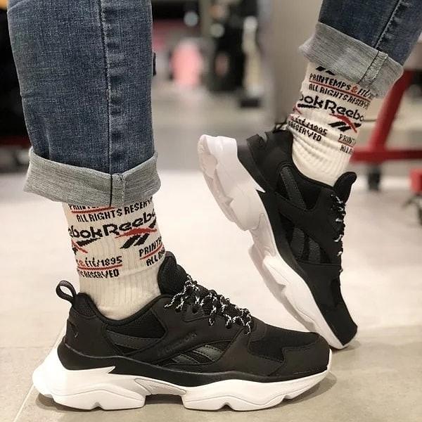 【現貨折後$1999】Reebok Royal Bridge 3.0 x Wanna One 黑色 老爹鞋 增高 韓國 男團 男女 DV8340