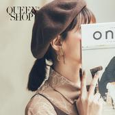 Queen Shop【07030578】霧面方形圓環耳針式耳環*現+預*