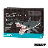 【日本 Kawada 河田】Nanoblock 迷你積木 大白鯊DX (2019) NBM-027