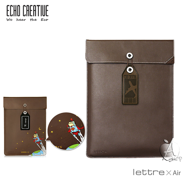 【A Shop】ECHO lettre X Macbook Air13/Retina13/iPad Pro 公文袋保護套/保護包-共兩款