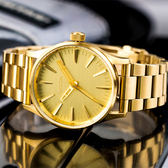 NIXON THE SENTRY 38 SS 精品潮流設計指針錶/香檳金 A450-502 熱賣中!