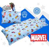復仇者聯盟 超萌Q版 兒童睡袋 鋪棉冬夏兩用 台灣製 超取限一顆