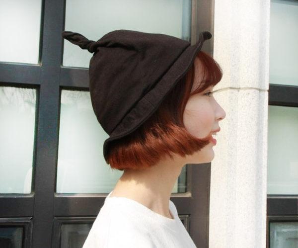 漁夫帽 韓國糖果色系尖尖丹寧帽盆帽 (6色)【Ann梨花安】