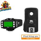 PIXEL King Pro 閃光燈無線TTL同步器 觸發器 (( for CANON )) E-TTL 公司貨 品色 King pro