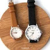 手錶 韓系女孩必搭玫瑰金手錶 大小款設計中性款式 可搭情侶對錶 柒彩年代【NE1840】單支價格