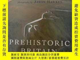 二手書博民逛書店Prehistoric罕見Britain from the Ai