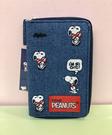 【震撼精品百貨】史奴比_Peanuts Snoopy ~SNOOPY鑰匙收納包-牛仔蝴蝶結#66881