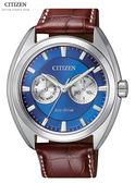 CITIZEN星辰ECO-Drive任賢齊與吳慷仁光動能BU4011-11L日曆腕錶43.5mm