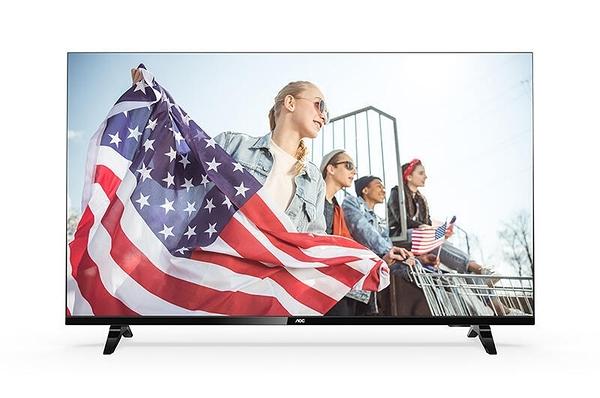 【免運費】 AOC 超薄邊框 淨藍光 40吋 液晶 電視/顯示器+視訊盒 40M3395