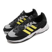 【五折特賣】adidas 慢跑鞋 20-20 FX 黑 黃 男鞋 緩震 透氣 低筒 運動鞋 【ACS】 EH0548