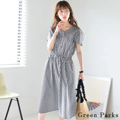 ❖ Summer ❖ 經典格紋連身洋裝 - Green Parks