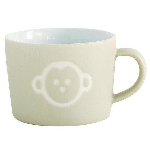 日本PETITS ET MAMAN 兒童用猴子馬克杯