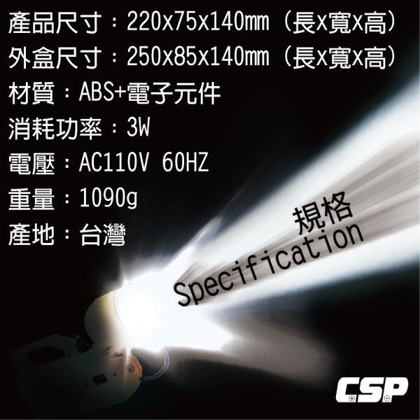 好眼光 ZC-303 全自動充電式遠照燈 (適合用於停電照明.防災救災.施工燈.戶外燈.露營燈.夜遊探險燈)