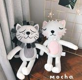 玩偶兒童毛絨玩具貓咪公仔生日禮物【奇趣小屋】